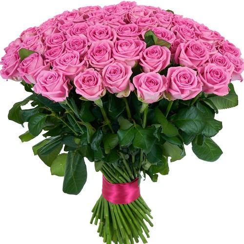 Купить на заказ Заказать Букет из 101 розовой розы с доставкой по Аркалыку с доставкой в Аркалыке