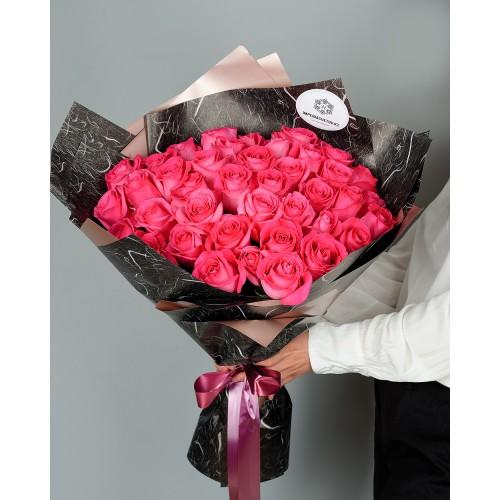 Купить на заказ Заказать Букет из 51 розовых роз с доставкой по Аркалыку с доставкой в Аркалыке