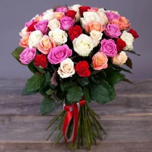 Купить на заказ Заказать Букет из 31 розы (микс) с доставкой по Аркалыку с доставкой в Аркалыке